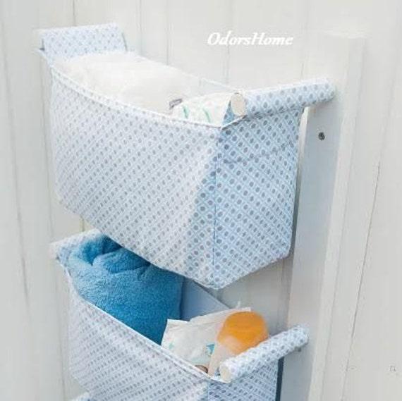 nursery storage bins kids room fabric storage baskets diaper caddy