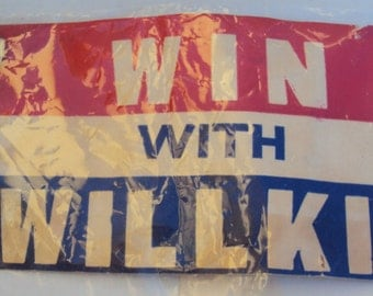 Willkie Campaign Collection, 1940