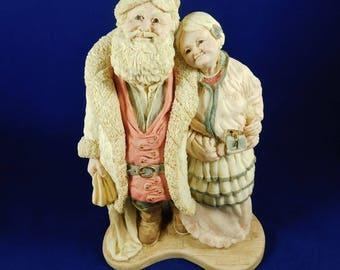 The Legend of Santa, Santa & Mrs. Claus, Victorian, United Design Corp. 1992, Ken Memoli, 2284/7500