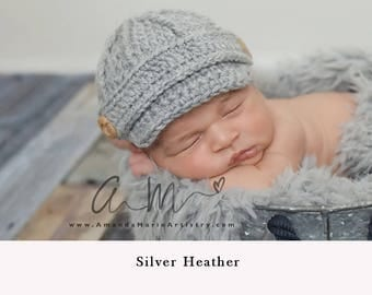 Baby Boy Hat Beanie, Baby Boy Crochet Hat, Newborn Baby Boy Photo Prop, Newsboy Baby Boy Beanie Hat, Baby Shower Gift, Baby Boy Clothes.