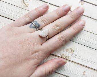 Pink Petalite Adjustable Ring | Stone Ring | Gemstone Ring | Stone Ring | Boho Ring | Rings | Statement Rings | Pink Petalite Jewelry | Ring