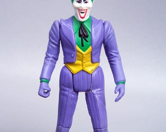 Vintage 1984 Super Powers The Joker Figure C85 Very Good Condition