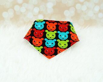 60% OFF SALE! Baby Bandana Bib - (Lion Cubs)     bibdana, drool bib, dribble bib, bandana bib sale, bibdanna, baby bibdana, baby shower
