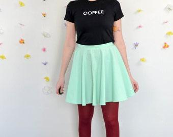 Mint Skirt / Mint Macarons Skirt