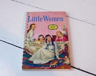 Vintage Book Little Women Notebook/Art Journal/Scrapbook/Sketchbook/Journal