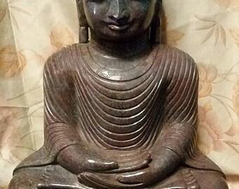 Corundum Buddha from India