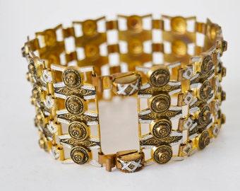 Bracelets, Toledo Spain, Damascene,