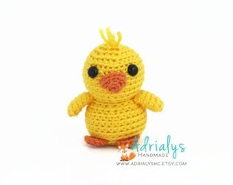 Crochet Duck- Small Duck- Stuffed Duck- Duck Plush- Farm Animals- Pond Animals- Handmade Duck- Crochet Toy- Toy Plush-Ready to Ship