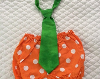 Boys 1st birthday orange and green cake smash   set,12 months.Ready to ship