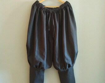 Viking trousers. Pantalón vikingo