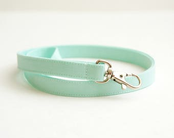 Cute Skinny Mint Lanyard - Solid Color Thin Lanyard  - 1/2 Inch Long Key Lanyard - Key Strap - Teacher Lanyard - 15.5-19.5 In. - Womens