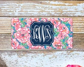 Monogrammed Lilly Pulitzer Inspired License Plate - Lucky Charms