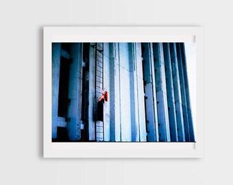 fashion photography, industrial photography, industrial building, woman portrait photos, surrealism,  canvas photo prints, wall art decor