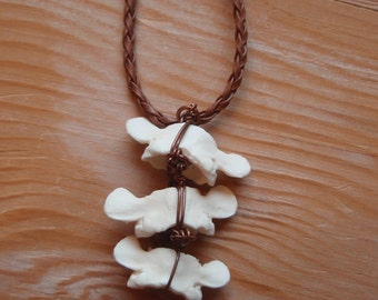Linked Vertebrae Necklace