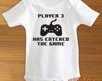 Player 3 Has Entered The Game Baby Bodysuit or Toddler Shirt