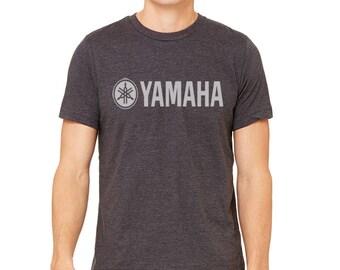 Yamaha motorcycle t-shirt biker racer tshirt size S M L XL XXL