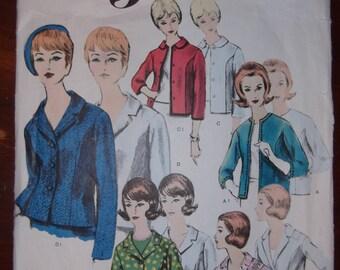 Vogue Pattern 3007 Basic Jacket Size 10