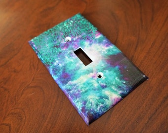 Galaxy Sparkle Switchplate