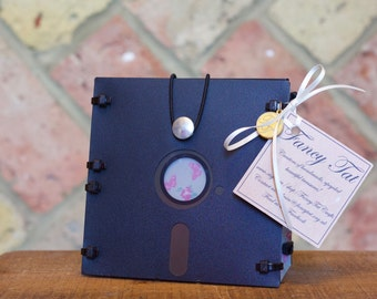 5 1/4 inch -  Floppy Disk Clutch Bag