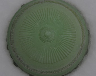 Vintage sage green ceiling lampshade