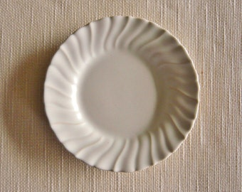 Franciscan Coronado Pattern Bread Plate White Matte Glaze