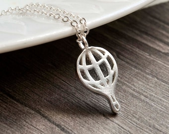 Hot air balloon - 925 Sterling Silver Edition
