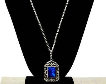 Vintage  Necklace - Vintage Necklace silvertone - Statement Necklace - SilverTone  - Gift for her