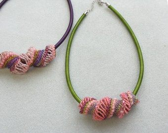 Colossal Spiral Necklace