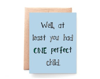 Funny Father's Day Card - Sarcastic - Funny Card for Dad From Daughter - From Son - Fathers Day Card