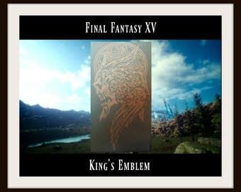 FFXV Final Fantasy 15 King's Emblem Vinyl Decal