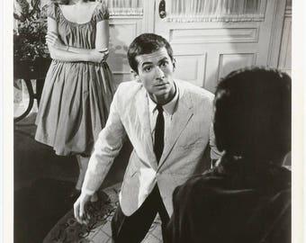 "1960s ORIGINAL Warner Bros. Gelatin Silver Archival Press Photo / Jane Fonda and Anthony Perkins in ""Tall Story"" Movie (1960)"