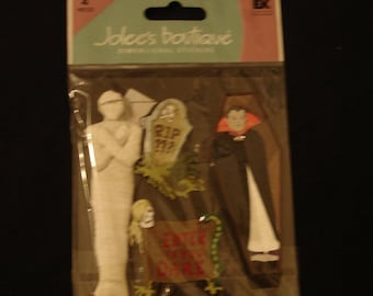 Jolee's Boutique-House Decorations-Halloween-Dracula- Mummy- Dimensional- New