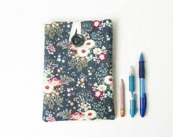 Floral IPad Mini case, handmade in the UK