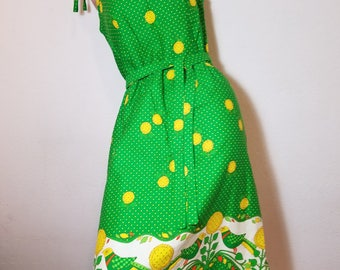 FREE  SHIPPING  1960 Designer  Hawaiian  Dress