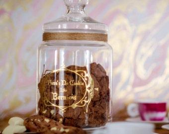 Keepsake Memory Jar Personalized  70 oz