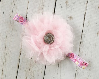 Tulle Flower Girl Headbands