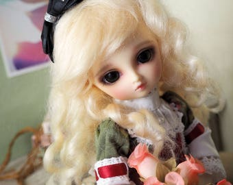 bjd doll girl wig Y-M17 (1 color) for YOSD 1/6BB
