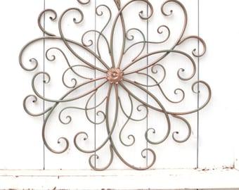 flower wall art flower wall decor decorative flower art wall decor metal