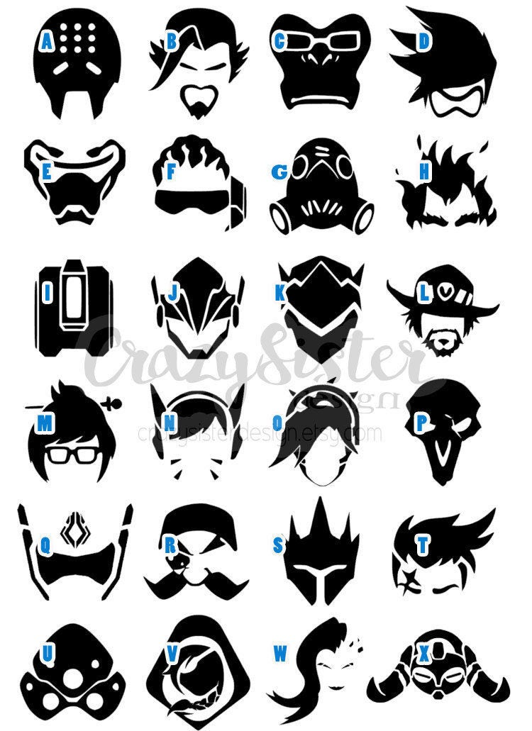all overwatch icons and how to get