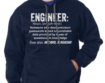 Engineer Hoodie Gift For Engineer Funny Occupation Hooded Sweater