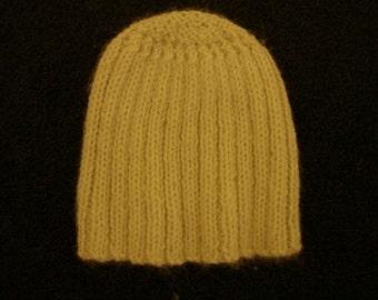 Beanie Hat - Cream