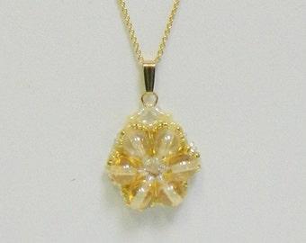 Swarovski Beaded necklace, Beaded Swarovski necklace, Crystal necklace - Circle of Life necklace