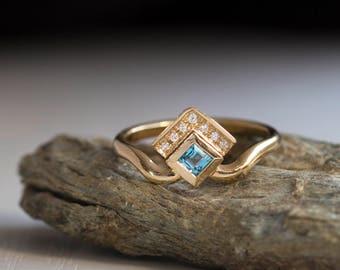 Crown ring princess ring tiara ring queen of England