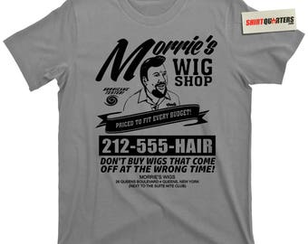 Morrie's morries Wig Shop Wigs Goodfellas Billy Batts Joe Pesci Tommy DeVito The Godfather 2 3 Chicago Mob Mafia movie trilogy tee T Shirt
