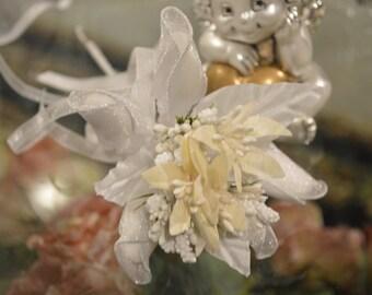 LOT OF 10 Bouquet Wedding Favors, Communion, Almond Favors, Bomboniere, Italian favors, Jordan almonds flowers, Koufeta, Favours