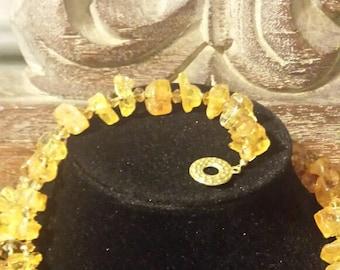 Raw Amber Bracelet