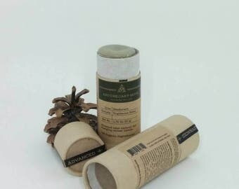 Deodorant Stick - Righteous Rebel- ADVANCED Care - Geranium, Patchouli, Clay, No Aluminum, Sustainable Packaging - 1.75 oz