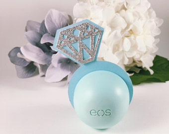 eos Lip Balm Holders - Bridal Shower Favor - eos Bridal Shower Favors - eos Holder - Bachelorette Party Favors - Party Favors