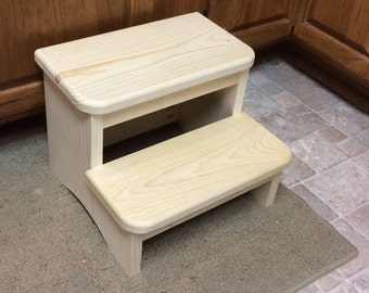 Small child's Wooden Step Stool