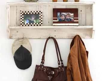 Rustic Entry Shelf--Choose Your Color!